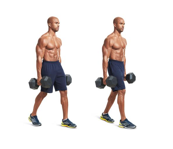 how to work forearms with dumbbells