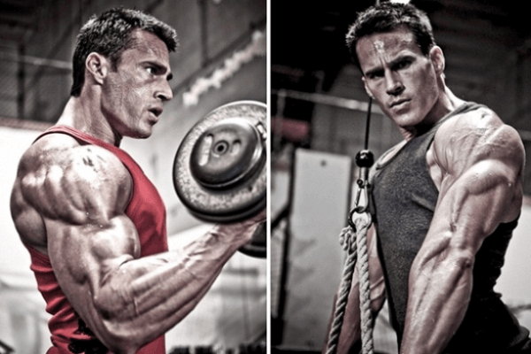 arms super set workout for mass gain