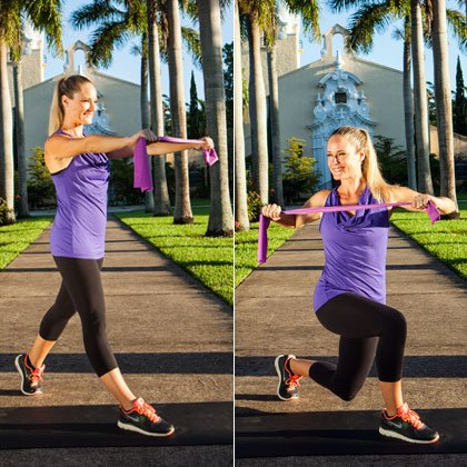 8 Resistance Band Exercises To Tone And Shape A Powerful