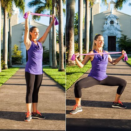 Resistance Band Workout - Bodybuilding & Fitness