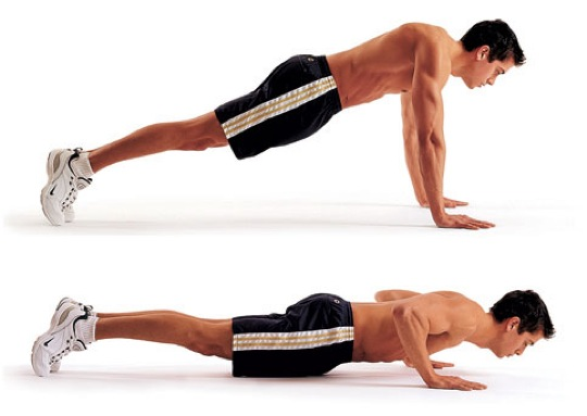 Start With A Regular Push Up