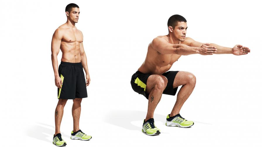 Two Ways to Load to The Chest and Back Squats