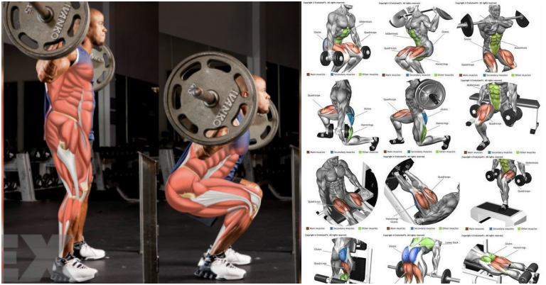legs workout Building strong, lean legs doesn't take as much work as you think.