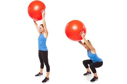 stability ball workout for strong core abs legs. Black Bedroom Furniture Sets. Home Design Ideas