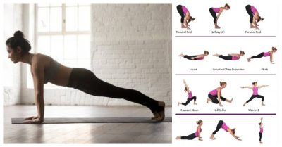 push-up yoga