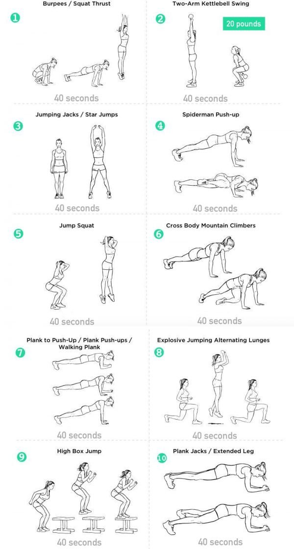 Effective 1000 Calorie Hiit Workout To Get In Shape Fast