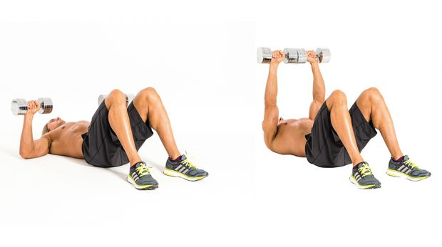Exercises To Build Chest Muscles With Dumbbells
