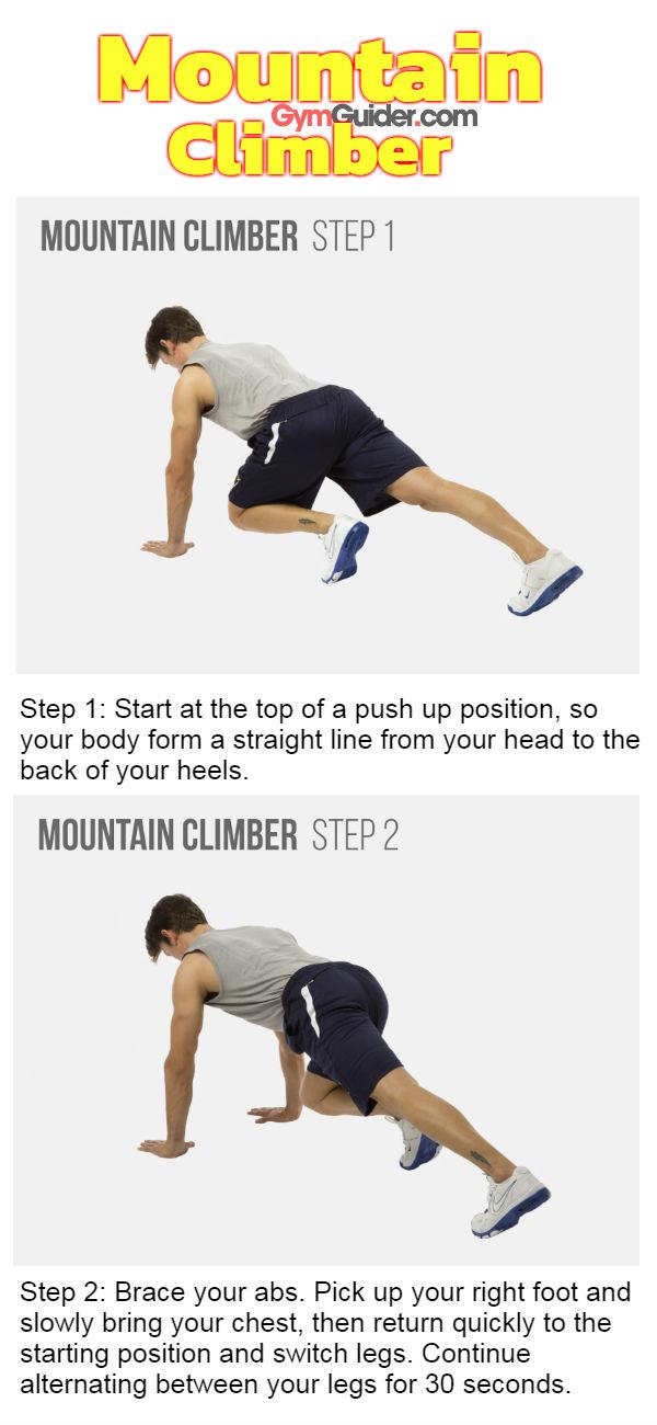 Mountain climber gymguider