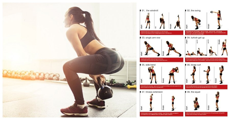 kettlebell effective exercises