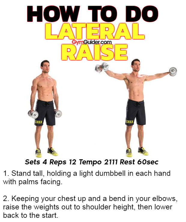 How to do lateral raise