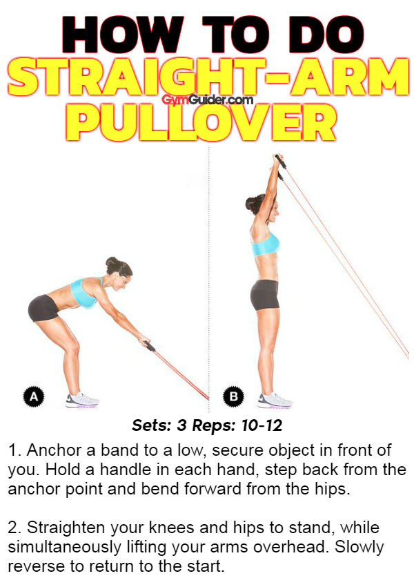 How To Do Straight Arm Pullover