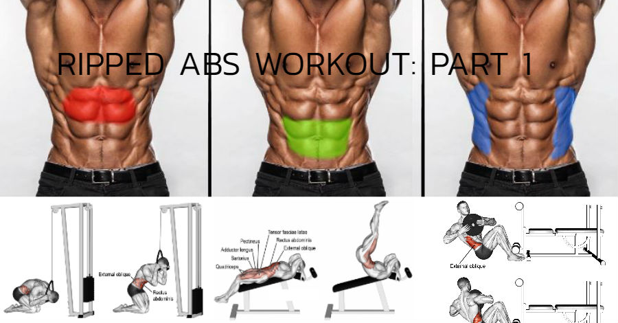 Insanely Ripped Summer Ab workout part 1