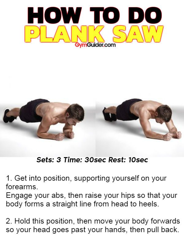 Plank saw sixpack