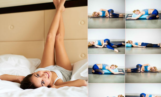 Yoga In The Comfort Of Your Own Bed