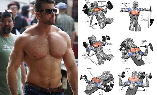 workout plan Monster Muscle Mass Chest