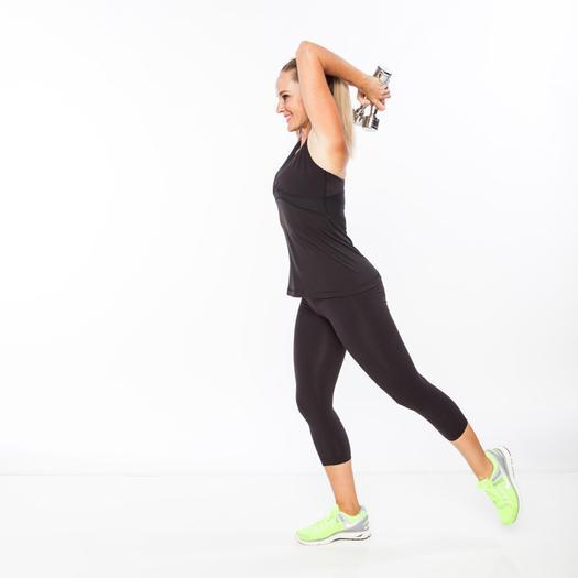 Balancing Triceps Extension