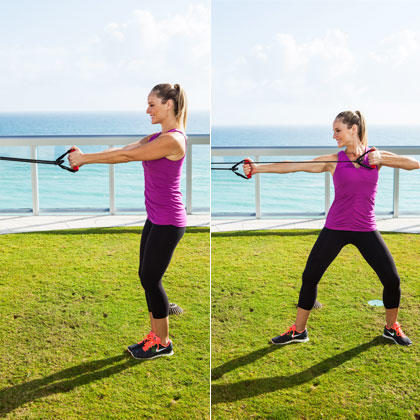 Bow and Arrow Pull