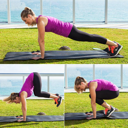 Plank Tuck Jumps