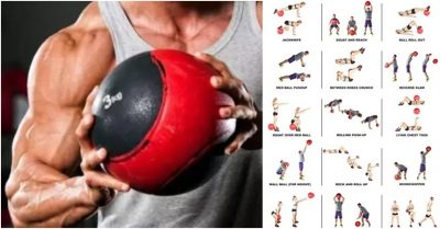 Burn Fat With This 5 Exercise Medicine Ball
