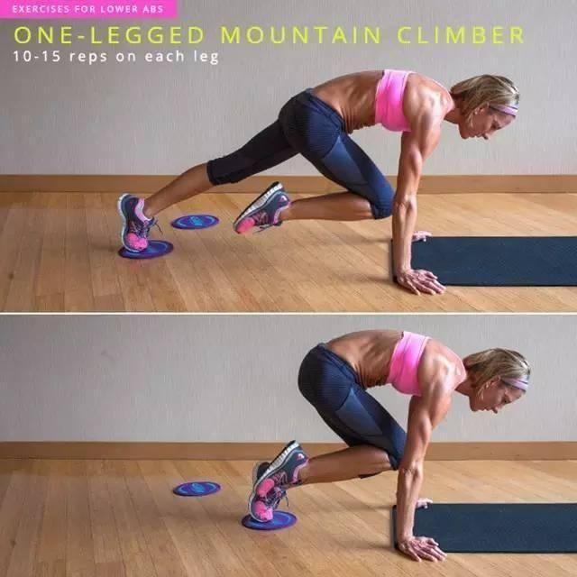 One-Legged Mountain Climber