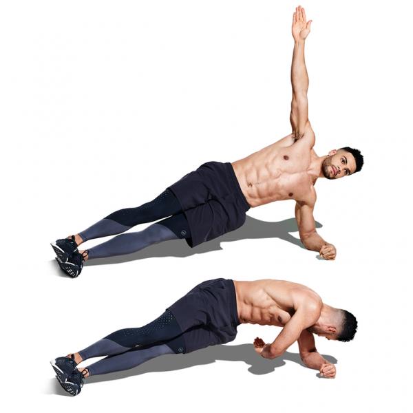 Side-Plank Rotation