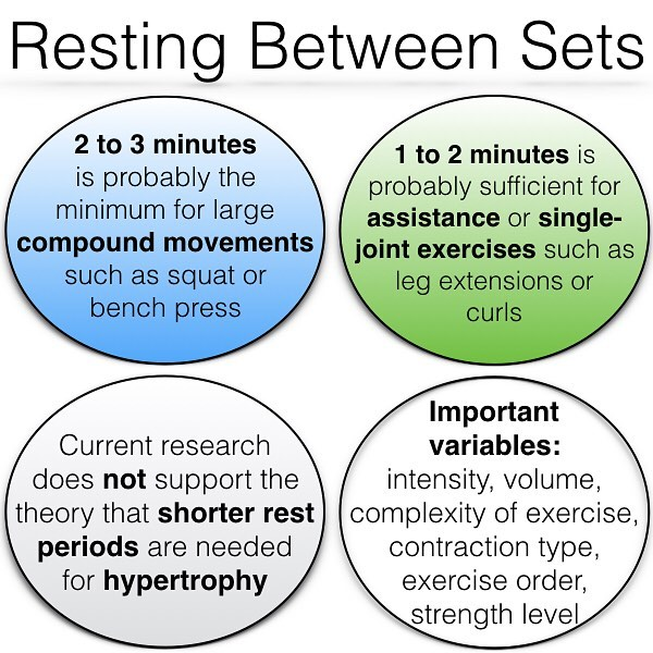 What Is The Best Rest Time Between Sets For Monster Muscle Growth Gymguider Com