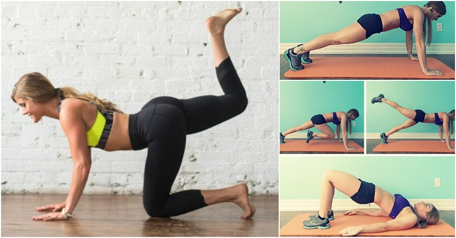Feel The Burn And Watch The Change In Your Glutes With The 20-Minute Leg And Butt Workout - Gymguider.Com - Health Fitness