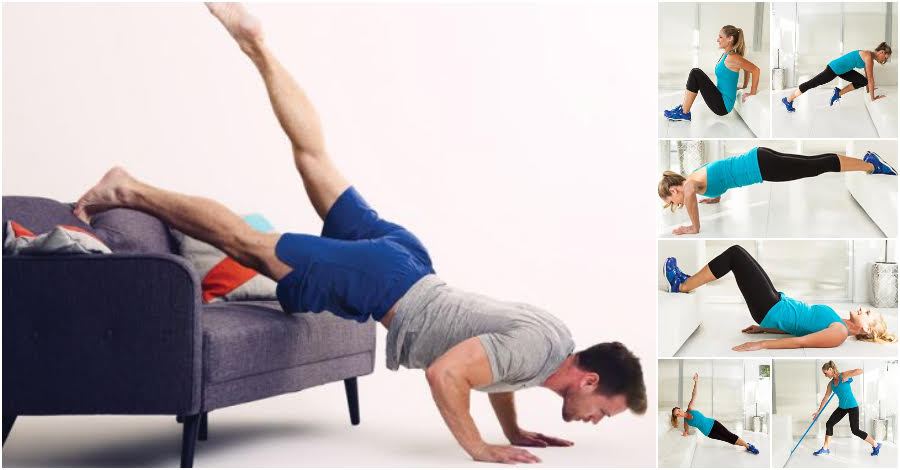 Can A Couch Workout Really Get You In Shape Amazingly, Yes! Let's Tone Our Whole Body Now!