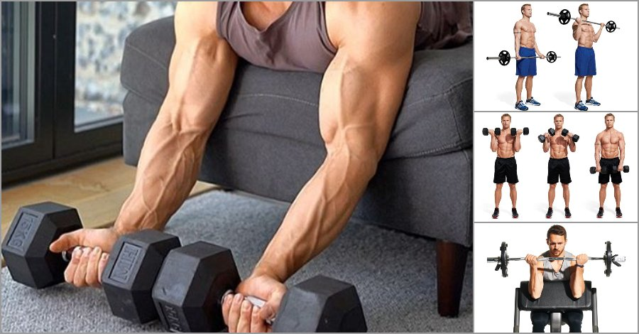 Want Bigger Better Biceps? Incorporate These 6 Curling Moves For Bursting Size