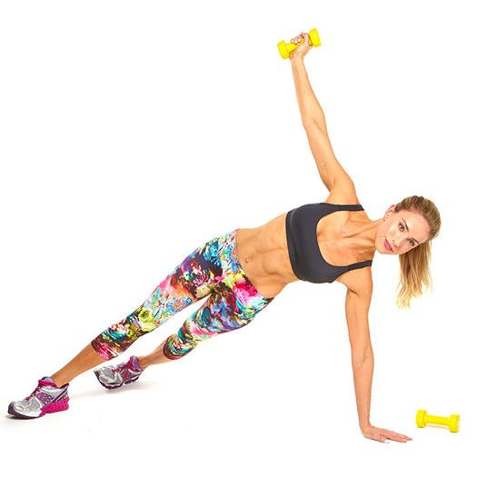 5 Dumbbell Exercise Upper-Body Workout for Sculpted, Strong Shoulders